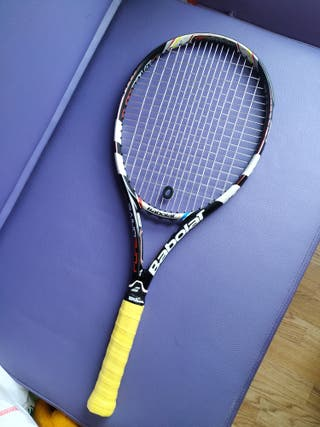 Raqueta Babolat Pure Drive French Open 300g grip 3