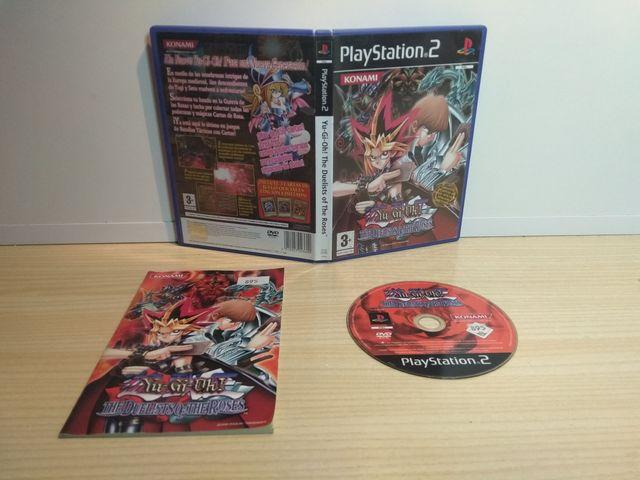 Yu-Gi-Oh! The duelists. PS2