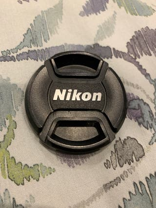 Tapa objetivo cámara Nikon 52 mm