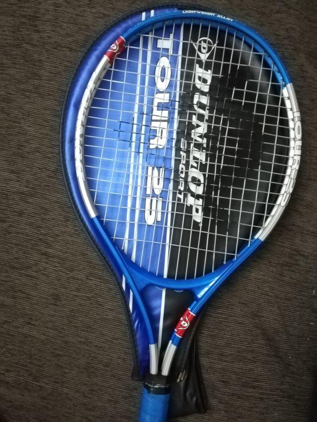 Raqueta de tenis junior Dunlop Tour 25