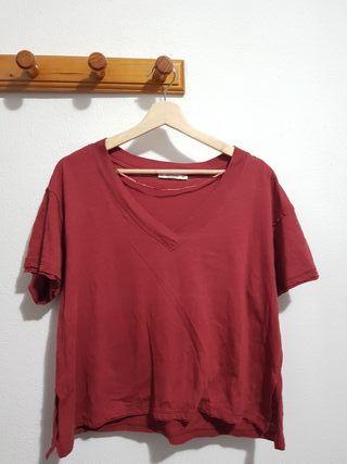 Camiseta rojo pastel