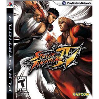 PS3 STREET FIGHTER PLAYSTATION 3