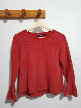 Jersey rojo pastel