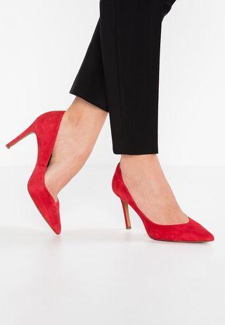 Banana Republic Zapatos de Tacón color rojo