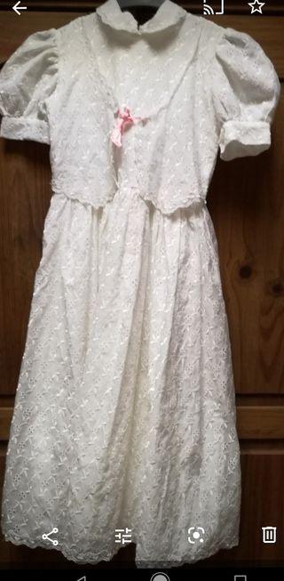 vestido de comunión corto 15 E