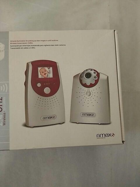 Cámara con monitor vigilancia bebes