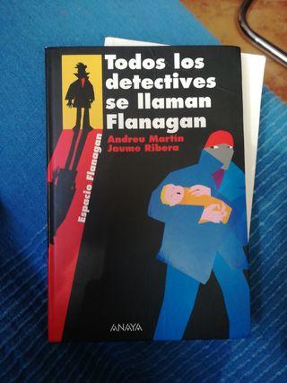 """LIBRO MISTERIO JUVENIL """"Todos los detectives"""""""