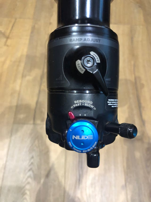 Amortiguador FOX NUDE TR EVOL 205x65 de segunda mano por