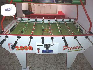 Futbolin profesional presa2000