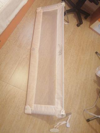 barandilla cama color blanca