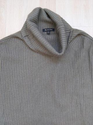 jersey capa MASSIMO DUTTI verde militar talla M