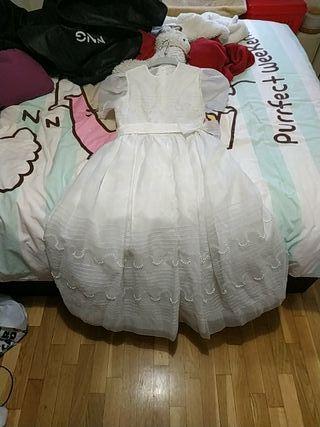 Vestido de comunión (8-9 años)