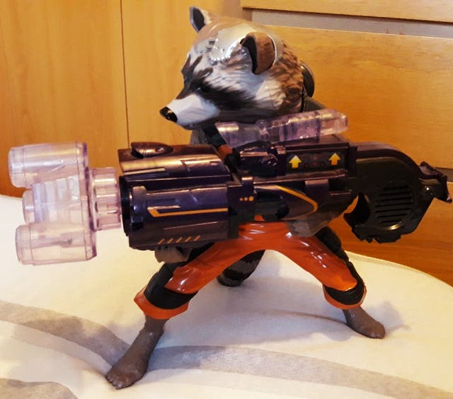 Figura Marvel: Rocket Raccoon.