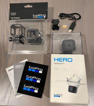 GoPro HERO4 SESSION + Accesorios