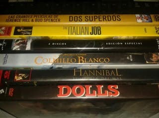 LOTE 6 PELÍCULAS DVD. VARIAS