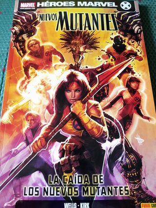 Tomo Los Nuevos Mutantes, Panini. Héroes Marvel