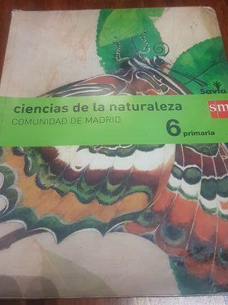 libro ciencias de la naturaleza 6°primaria ed. sav