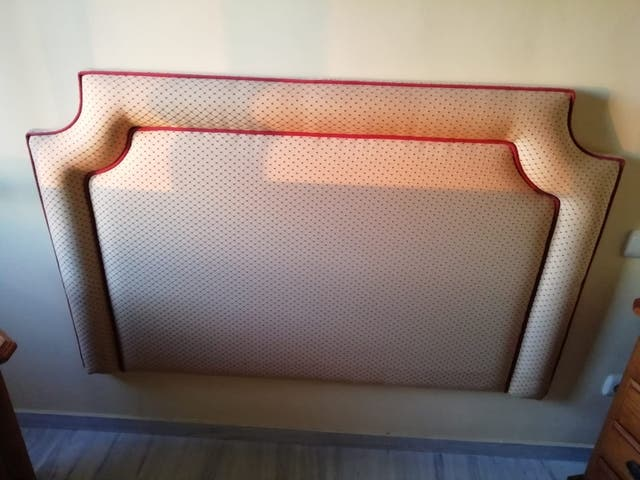 mesa centro decorativa y cabecero 135 (La Cala de Mijas, Málaga)