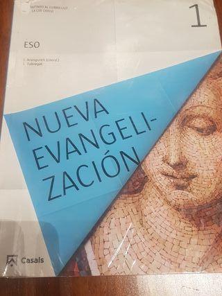 libro religión 1° E.S.O nueva evangelización ed. c