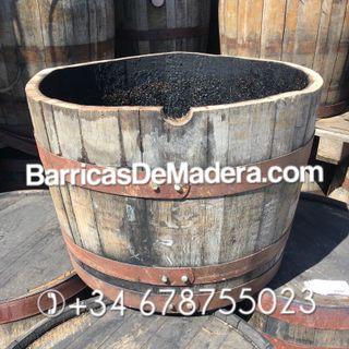 MACETERO HECHOS CON BARRILES