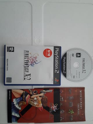 ps2 final fantatasy x2 español pal