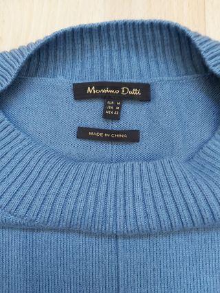 jersey capa azul MASSIMO DUTTI talla M
