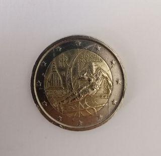 Moneda conmemorativa 2€ italia