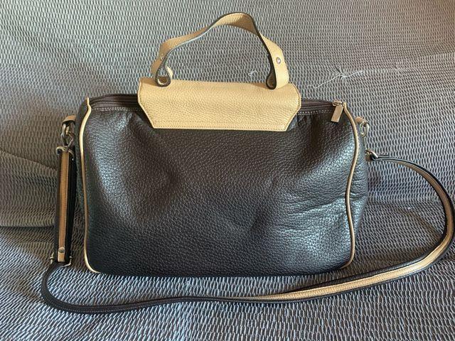 Bolso maletín de piel marca GR
