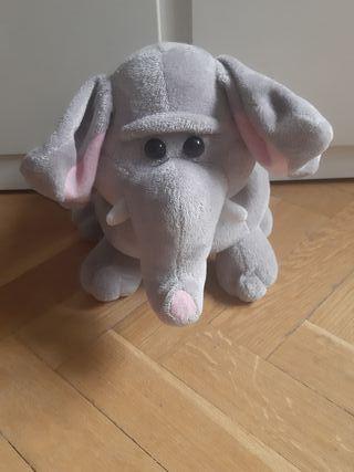 Hucha/peluche de elefante electronica