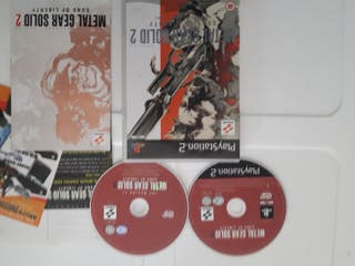 ps2 Metal gear solid 2 pal españa