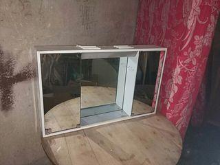 Mueble de baño con espejos antiguo