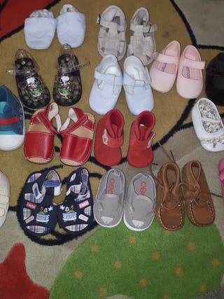 zapatos bebé talla 16,17,18,19