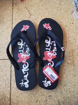 Chanclas 39 warehouse playa piscina verano