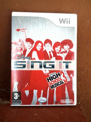 juego Wii Sing It Disney