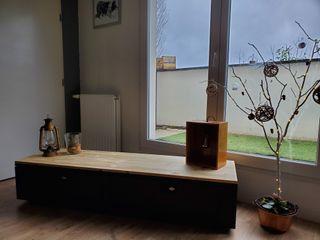 meuble TV vestiaire industriel