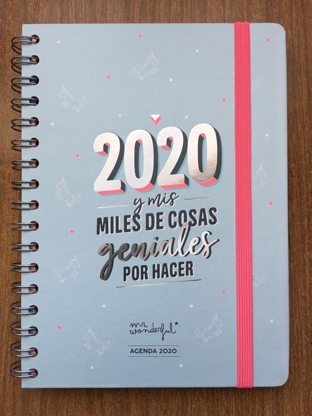 Agenda Mr Wonderful 2020