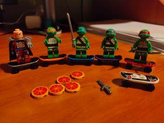 Tortugas ninja tipo lego