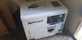 generador de luz diesel va a 3000revoluciones