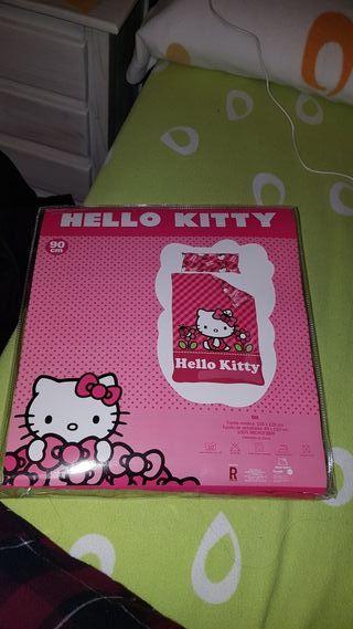 funda nordica hello kitty