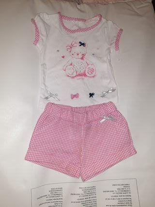 Conjunto ropa niña