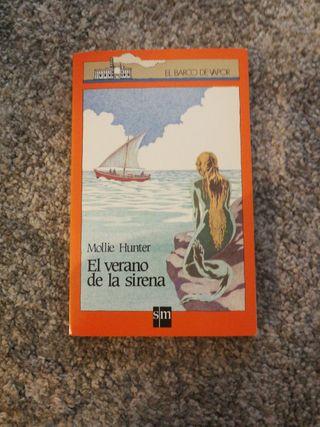 """Libro """"El verano de la sirena"""""""