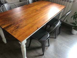 Mesa de comedor de madera maciza - Maison du Monde