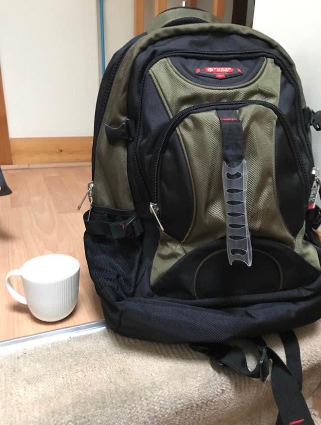 Backpack bag laptop travel