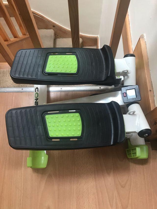 Home stepper machine gym fitness confidence