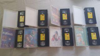 Lote peliculas VHS Clásicos Disney