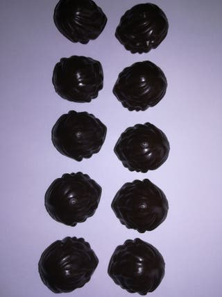 Playmobil lote 10 pelucas marrones oscuras