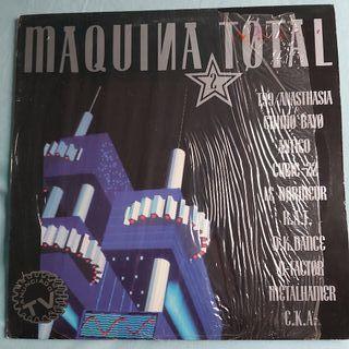 DISCO VINILO MAQUINA TOTAL 2 MEGAMIX MAKINA DANCE