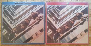 30€, 2 LP dobles de los Beatles. Año 1973