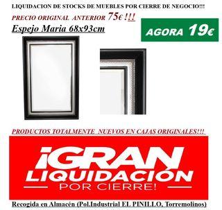 LIQUIDACIÓN!!!Espejos con Marco 68cmx93cm!!!