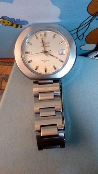 reloj longines admiral hf automatico 40 mm. NOS